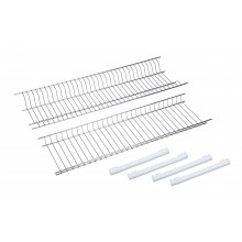 Stainless steel cupboard dish drainers