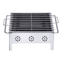 Stainless steel table barbecue